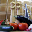 Stock Photo: Ratatouille Ingredients