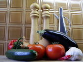 Ratatouille Ingredients — Stock Photo
