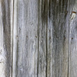 Aged weathered door planks - Stock Photo