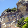 Limestone cliffs - Stock Photo