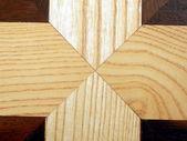 Suelo de paneles de madera — Foto de Stock