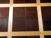 Wood panelled flooring — Stock Photo