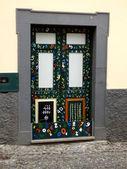 математика на дверь — Стоковое фото
