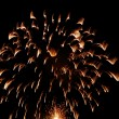 Cascading Fireworks — Stock Photo