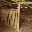 Goat shed — Stock Photo