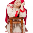 Stock Photo: Russivillage girl