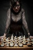 国际象棋大师 — 图库照片