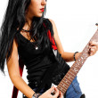 Stock Photo: Rocker chick