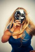 Sexy maske — Stockfoto
