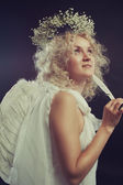 Girl from Heaven — Stock Photo