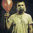 Post apocalyptic birthday — Stockfoto