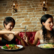 Two girl-friends — Stock Photo #27777081