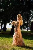 Flower Bride — Stock Photo
