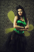 Green fairy — Stock Photo