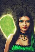 绿色童话 — 图库照片