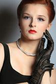 Krásná dívka. portrét. — Stock fotografie