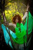 森の中の精神 — ストック写真