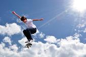 Skateboarding — Stock Photo