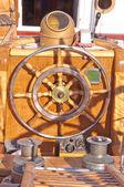 Oude houten roer — Stockfoto