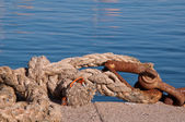 A ship rope — Stock Photo