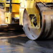 Stock Photo: Heavy Vibration roller compactor