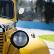 Yellow taxi — Stock Photo