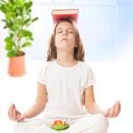 Meditating — Stock Photo