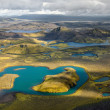 Air Pano Iceland — Stock Photo