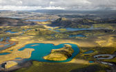 Ar islândia de pano — Foto Stock