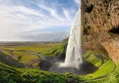İzlanda'daki şelaleler — Stok fotoğraf