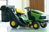Mini traktör — Stok fotoğraf