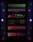 Effet de lumière abstraite — Vecteur
