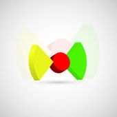 Abstraktní obchodní ikona — Stock vektor