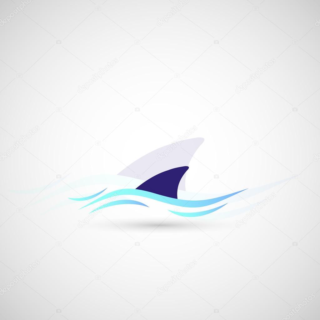 shark fin logo stock vector  u00a9 yyy ogisanya 29897811 shark fin golf ball marker shark fin lager