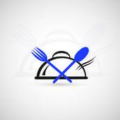 Restaurace ikona — Stock vektor