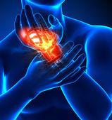 Ból nadgarstka - szczegóły — Zdjęcie stockowe