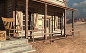 Old wild west building — Stock Photo