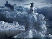 孤独な灯台 — ストック写真