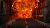 Firestorm — Stock Photo
