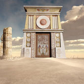 Ruins of ancient temple — Stock Photo