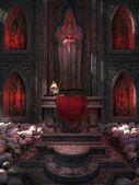 Chapel made of skulls — Stockfoto
