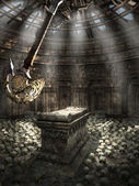 Chamber with pendulum — Stockfoto