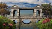 Ancient stone bridge — Stock Photo