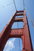 San Francisco Golden Gate Bridge — Stock Photo