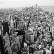 Black and White New York City panorama — Stock Photo #23363024