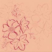 Pattern floristici — Foto Stock