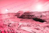 Landscape after an apocalypse — Stock Photo