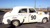 Rally of a retro-cars — Stock Photo