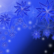 Stock Photo: Christmas star background