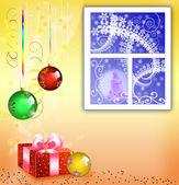 Card to Christmas — Stock Photo